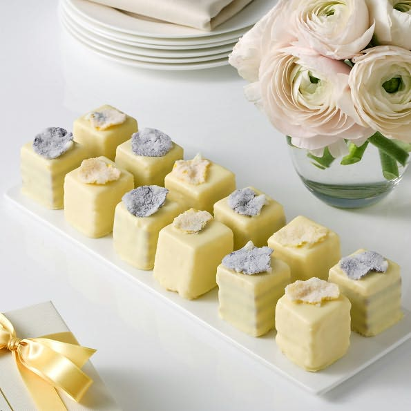 pansy petit fours
